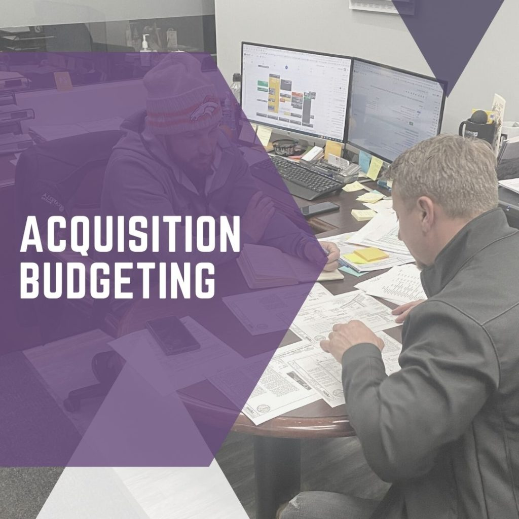 Acquisition Budgeting
