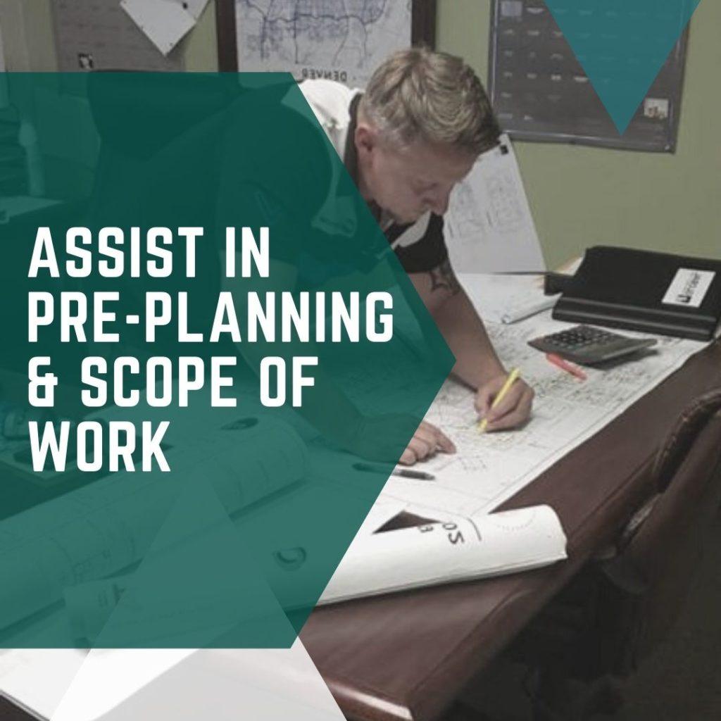 Pre-planning & Scope of Work