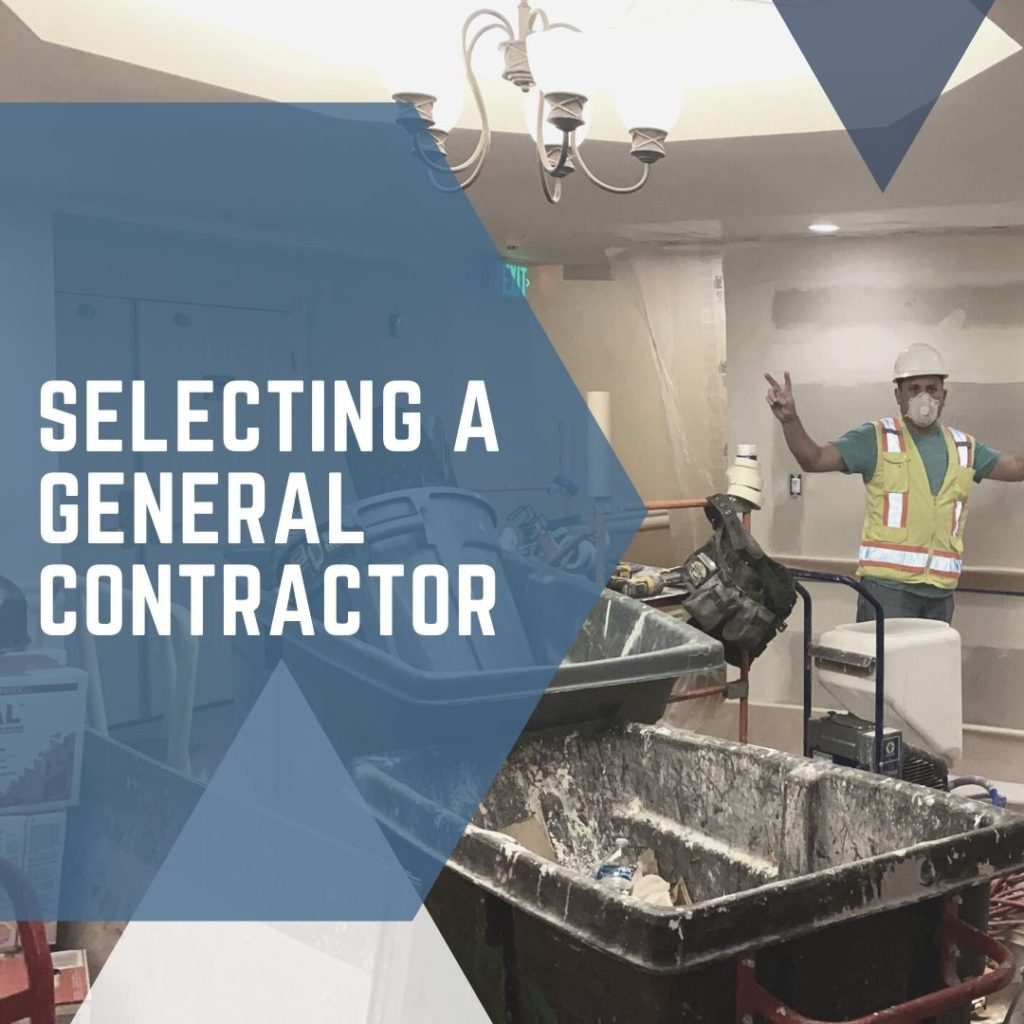 Selecting a General Contractor