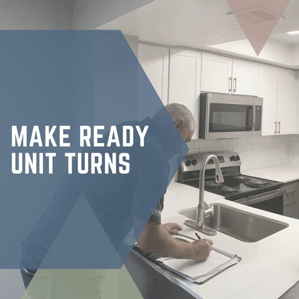 Make Ready Unit Turns